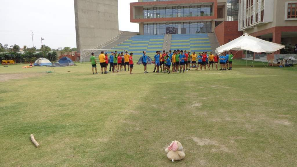 2-day Course at Shiv Nadar School, May 2016