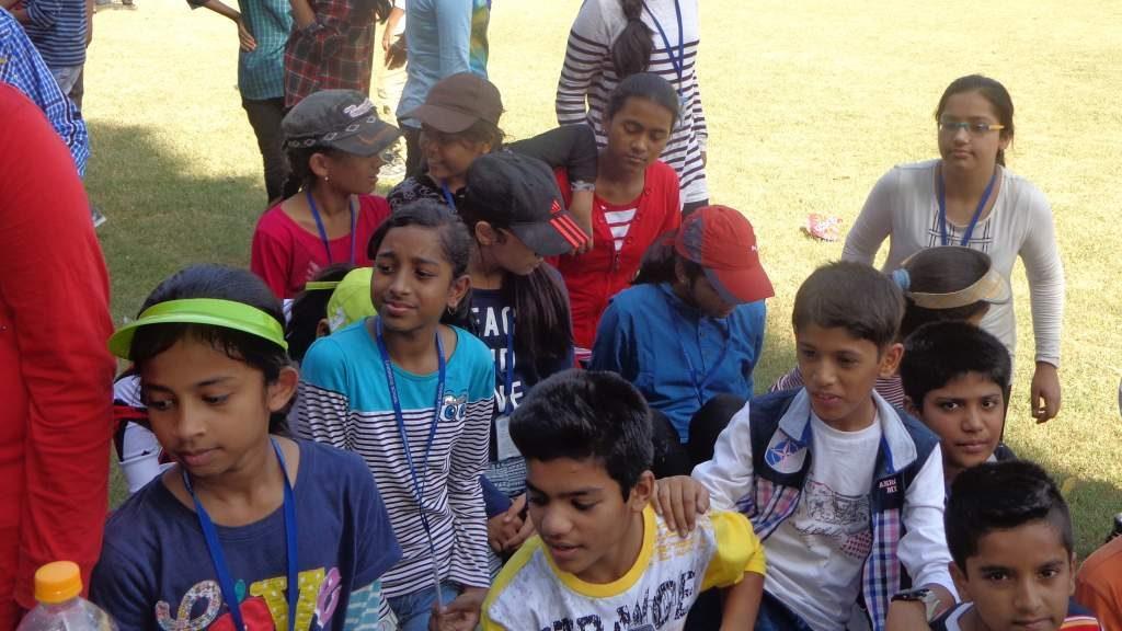 1-day Course at Cambridge School Sriniwaspuri Oct 2015