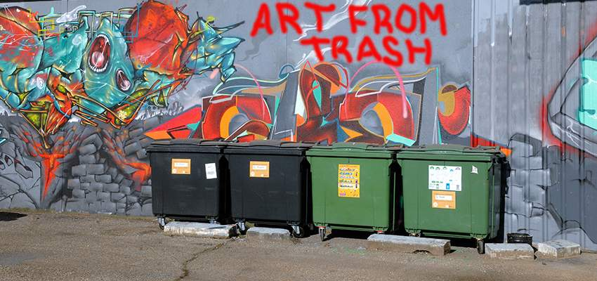 art from trash