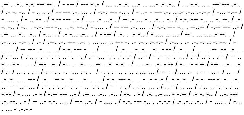 Morse Code And Phonetic Code Chart